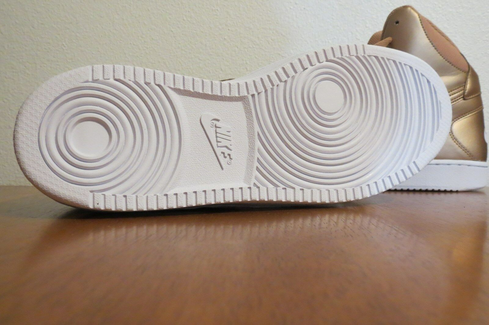 NIKE Son of Force METALLIC Mid High Top Sneaker Sneaker Sneaker shoes  womens 10.5  NEW 687f71