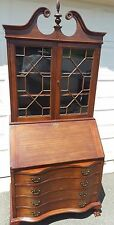 Vintage Mahogany Maddox Table Company of Jamestown NY  Secretary desk 1940s