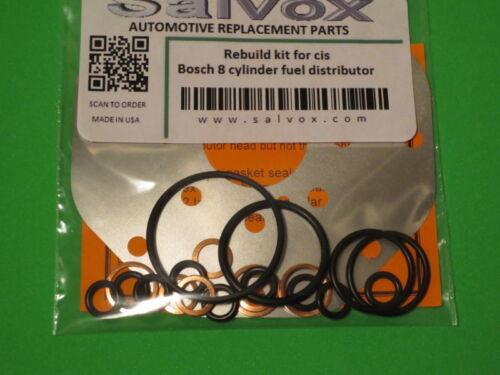 Porsche 930 and 911 Turbo Bosch Fuel Distributor Rebuild kit 0438100037