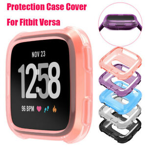 Soft-TPU-Protection-Silicone-Full-Case-Cover-For-Fitbit-Versa-Smart-Watch-Wrist