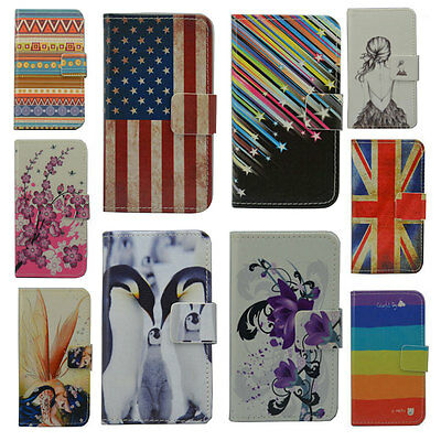 For ASUS case Wallet Card DELUXE leather cartoon cute Cover