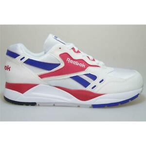 perdí mi camino Becks Universidad  Reebok Bolton M49231 White/Magenta Trainers Men Shoes | eBay