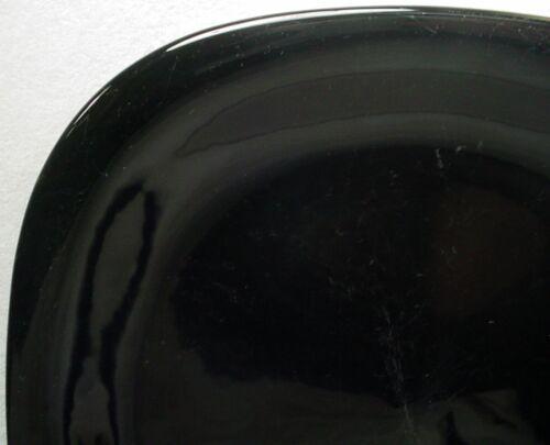 "- 3/"" MIKASA china BASIC BLACK CF700//CE700 pattern CUP /& SAUCER Set of Two 2"