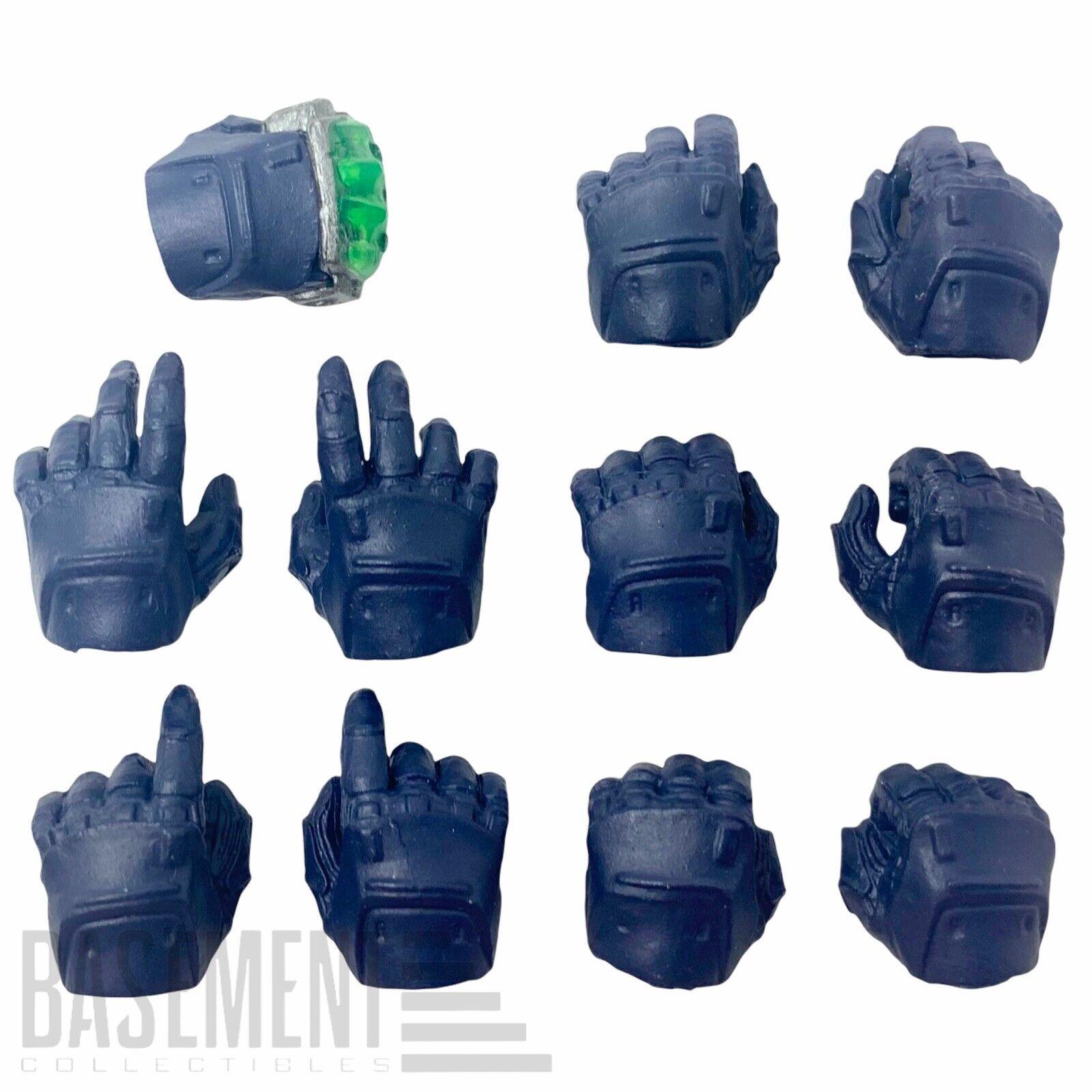 Mezco One:12 Batman: Sovereign Knight PX - Blue Eleven Interchangeable Hands Set on eBay thumbnail