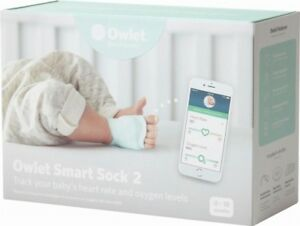Owlet-Smart-Sock-2-Baby-Heart-Rate-amp-Oxygen-Level-Health-Monitor-NEW-in-BOX