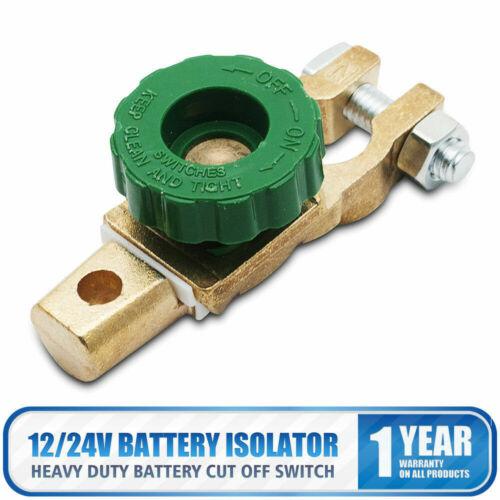 Heavy Duty Battery Disconnect Isolator Cut Off Switch 12v 24v