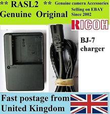 Genuine RICOH Charger BJ-7 for DB-70 BP-DC6,Caplio R7 Caplio R8 Ricoh CX2 CX1