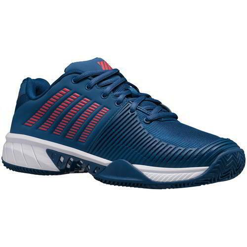 K-Swiss Express Light 2 HB Mens Hard Court Blue Tennis Shoes Trainers Size 8-12