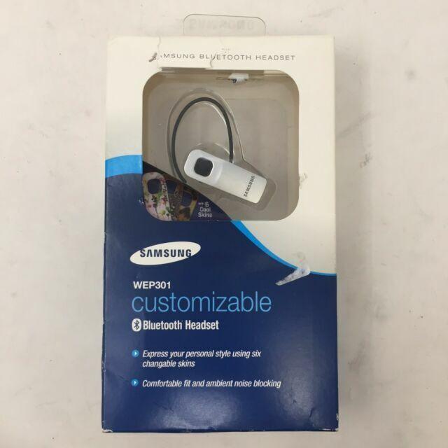 Samsung Wep301 Customizable Bluetooth Bt Headset For Sale Online Ebay