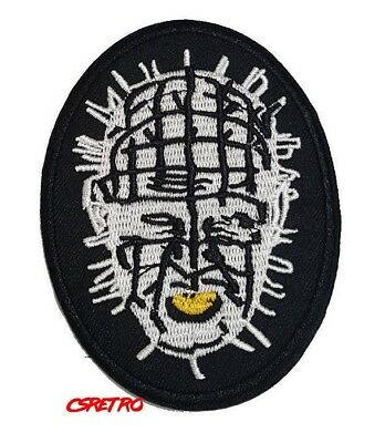 New Horror Motorhead Lemmy Ozzy Pinhead Hellraiser Iron On Patch