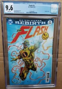 Flash-21-CGC-9-6-The-Button-Lenticular-3D-Variant-Cover-Batman-Crossover-DC
