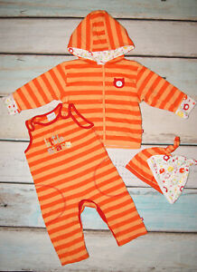 Mini Club Brand New Baby Boys Jacket Dungarees Hats Outfi Set