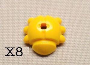 LEGO-8-Bright-Light-Orange-Ladybug-Minifigure-amp-Plant-Stem-Accessory-Landscape