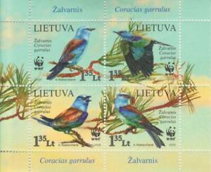 Lithuania 2008 Yvert Tellier - Hb No 38 Protection of The Nature/Av