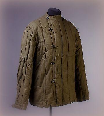 7fe29ede4d9e8 Details about Soviet MILITARY WW2 WINTER Jacket UNIFORM Telogreika sz S M  St Patricks Day Sale
