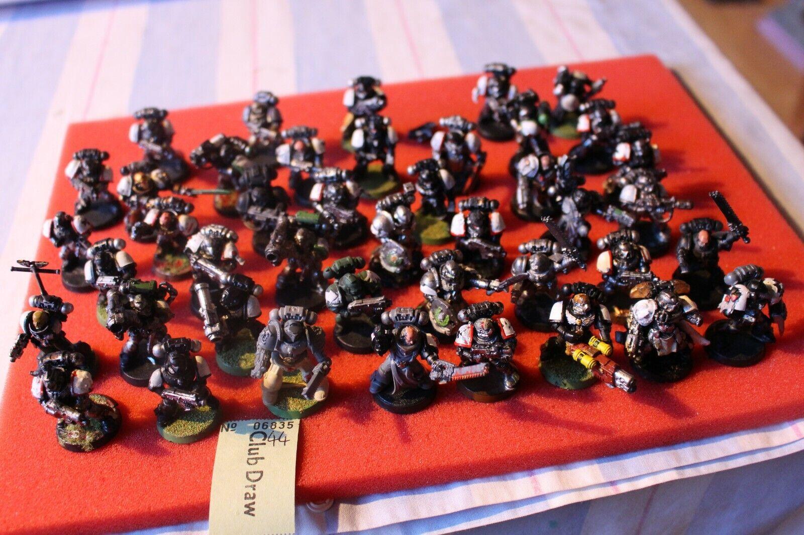 Games Workshop Warhammer 40k Space Marines Marine Tactique 40 modèles armée joblots