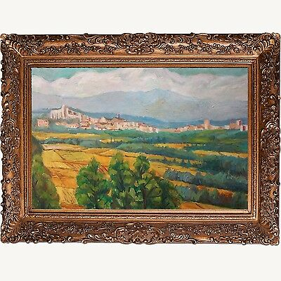 fine-Picture-Frame-antique-Gold-Ornate-photo-museum-Oil-Painting-Wood-256G