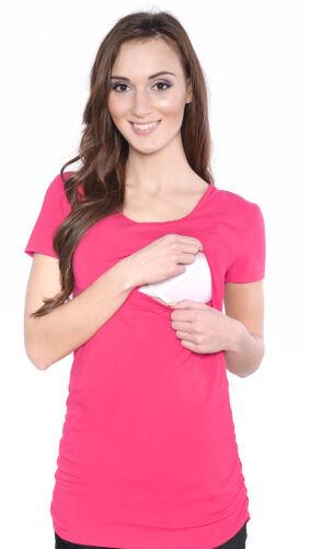 2 in 1 Stillshirt Umstands Shirt Top Bluse Stilltop Stillbluse Umstandsmode II
