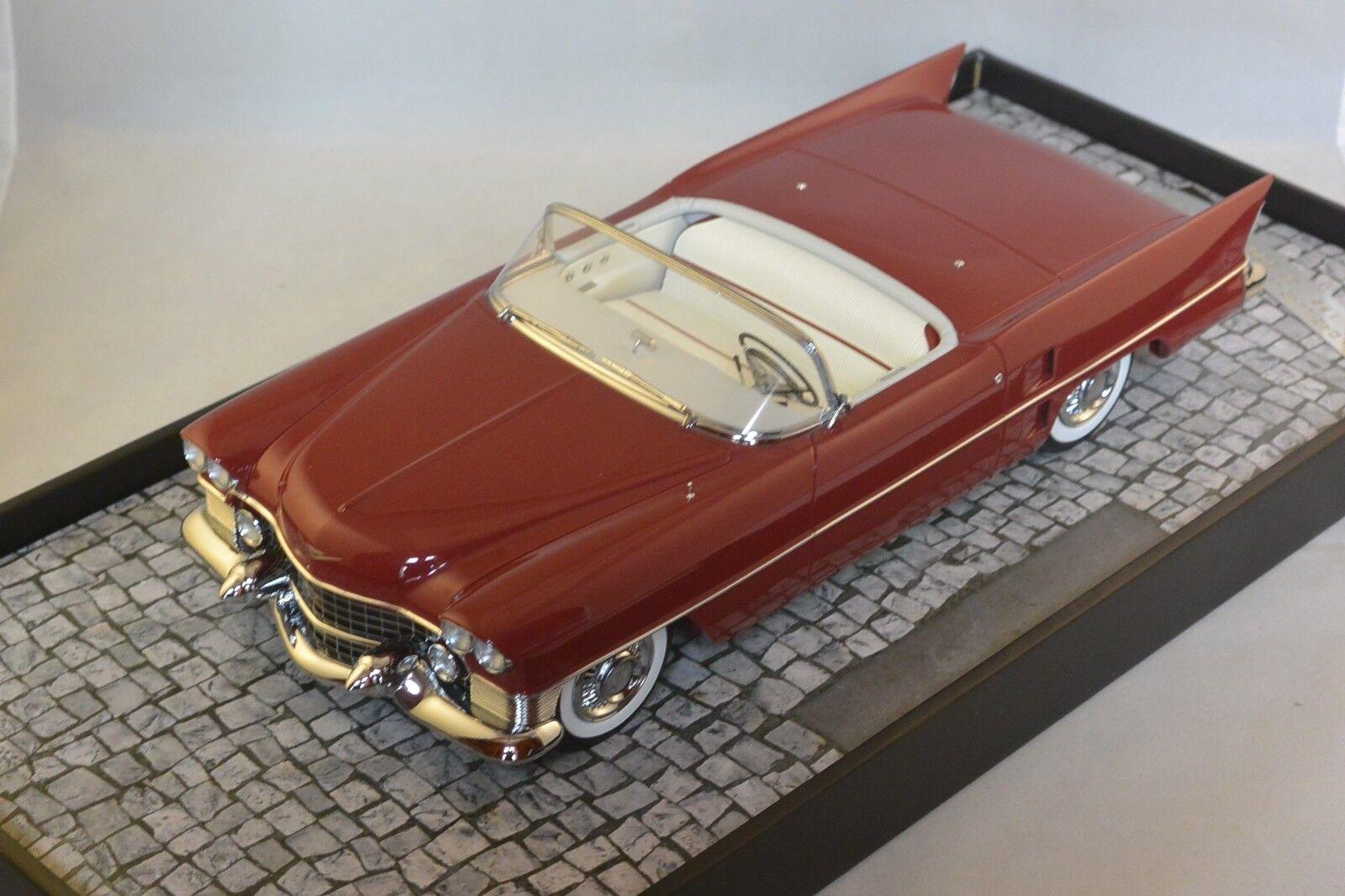 Minichamps 107148231 - CADILLAC LE MANS DREAM CAR - 1953 - Rojo L.E.  pcs