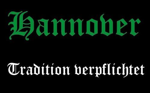 Ricamate Hannover tradizione obbliga aufbügler Patch 9 x 6 cm
