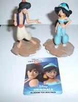 Disney Infinity 2.0 Originals Aladdin Jasmine Character Figure With Code Card