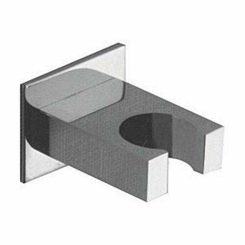 Wandhalter Halterung für Handbrause quadratisch eckig quadro Metall von Demm