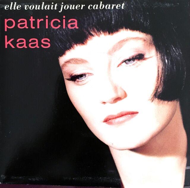 """Patricia Kaas 7"""" Elle Voulait Jouer Cabaret - France (EX/EX)"""