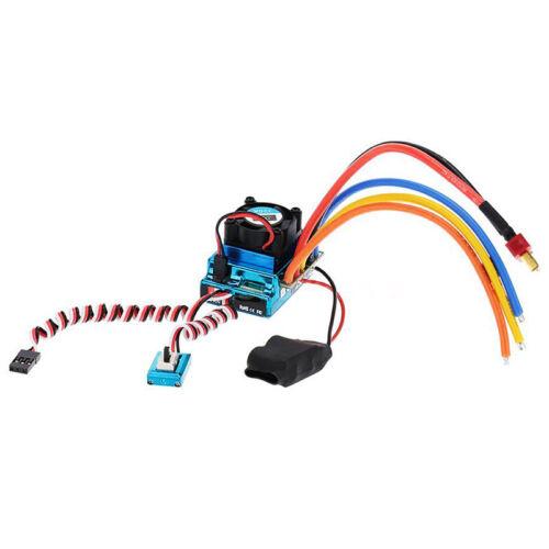 120A Sensored Brushless Speed Controller Esc Für Rc 1//8 1//10 1//12 Auto Cl G2A2