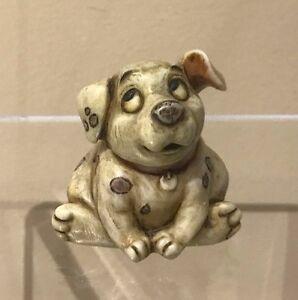 Retired Rolly Puppy FIGURINE BOX NIB HARMONY KINGDOM Disney 101 Dalmations