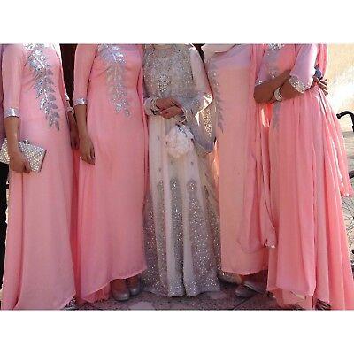 Asian Clothes Wedding Dress Girls Party Eid Wear Pakistni Indian Ebay
