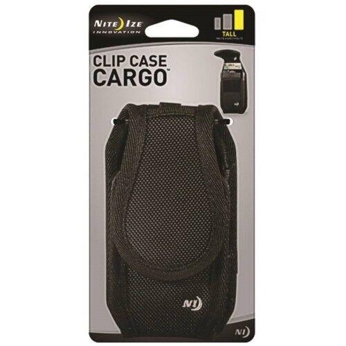 Nite Ize Clip Case Cargo Holster 2.75oz Hook & Loop Closure-3oz Magnetic Closure