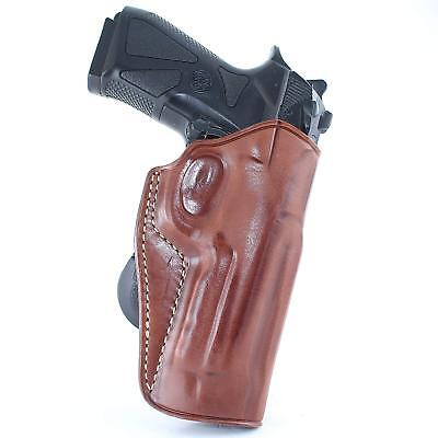 Holsters, Belts & Pouches Holsters Leather Paddle Holster Fits Beretta 92/96/f92/pf92 #1070# Superior Performance
