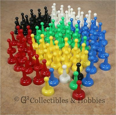 Assorted 25mm Game Pawns Set of 100