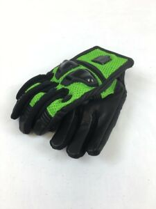 ICON-ADULT-MEN-039-S-MOTORCYCLE-MOTOCROSS-JUSTICE-MESH-GLOVES-GREEN-S-SMALL