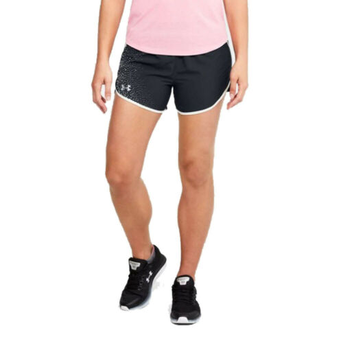 Under Armour Womens Fly By 2.0 Graphic Running Shorts Pants Trousers Bottoms