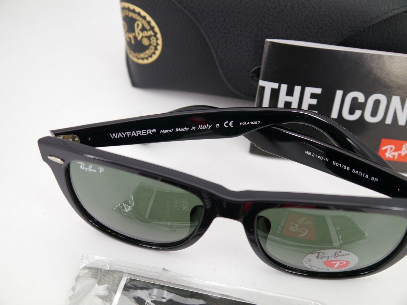 a656b4a242a18 Ray-Ban Rb2140 Original Wayfarer Sunglasses Black Frame crystal ...