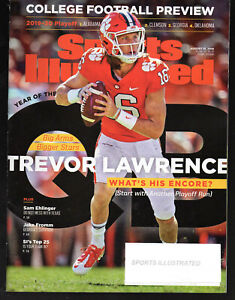 2019 Sports Illustrated Clemson Tigers QB Trevor Lawrence ...