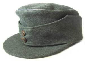 German-Officers-Ski-Cap-Bergmutze-WW2-Gebirgsjager-Hat-Bergmutze-Mountain-Army