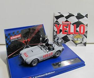 Carrera-Digital-132-Shelby-Cobra-289-034-Yello-034-Limited-Edition-30655-NEU-OVP
