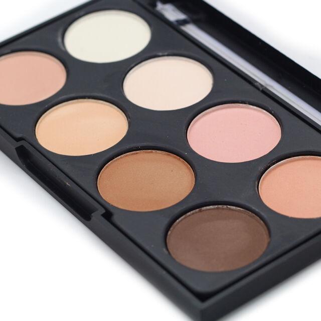 NEW 8 Color Contour Cream Concealer Kit Neutral Makeup Camouflage Palette Pro.