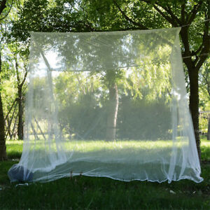 Large-White-Camping-Mosquito-Net-Indoor-Outdoor-Netting-Storage-Bag-Insect-Tent