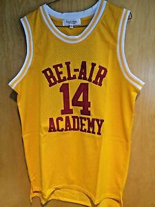 24a2f18a1cc7 Will Smith  14 The Fresh Prince Of Bel-Air Basketball Jersey Maroon ...