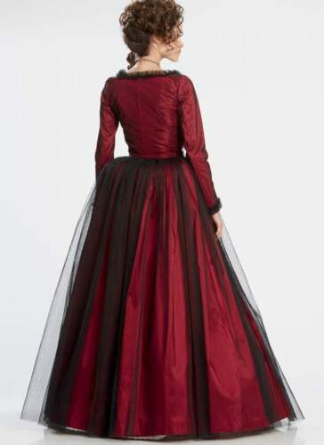 Schnittmuster Robe a la Anglaise Gr.40-48 2