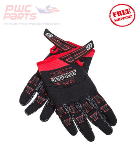 JET PILOT RED Neoprene Full Gloves X-LARGE JP9300 PWC Riding Sea Doo Honda