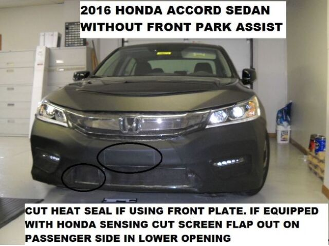 LeBra Front End Mask-551519-01 fits Honda Accord 2016 2017