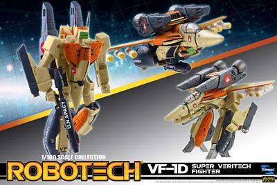 1//100 Robotech VF-1S transformable avec Macross Armor Set-Neuf non ouvert
