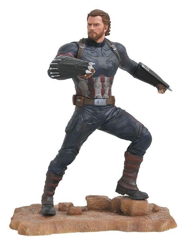Capitán America Marvel Gallery Avengers Avengers Avengers 3 Estatua 23 cm a33744