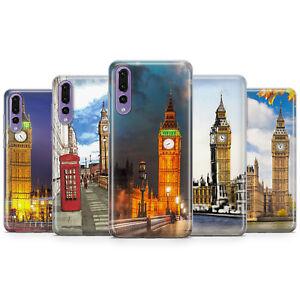 Dettagli su Big Ben Inghilterra Arte Simbolo di Londra Telefono Custodie e copertine per HUAWEI P10 P20 P30- mostra il titolo originale