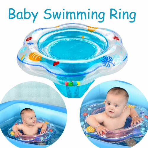 Inflatable Baby Kids Float Swimming Ring Safety Swim Trainer Water Toy Pool Fun