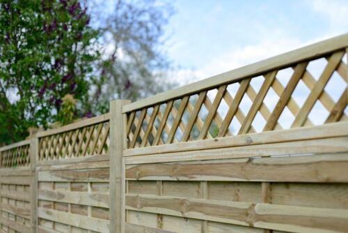 Fencing Panels Wood Fence Panels brand new 1.83m x 1.2m St Esprit Trellis Top
